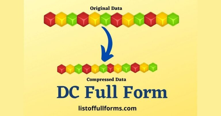 DC Full Form