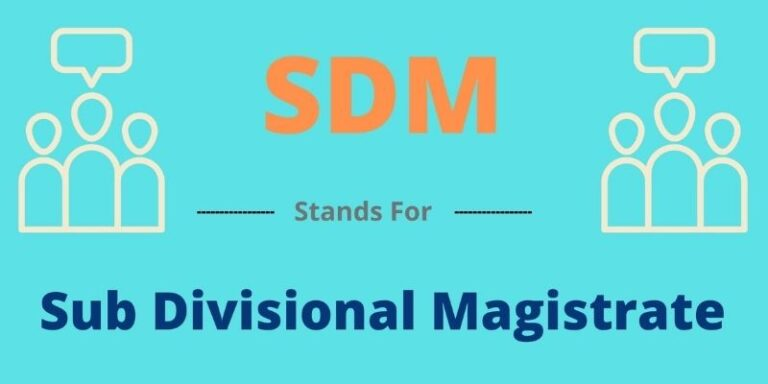 SDM full form